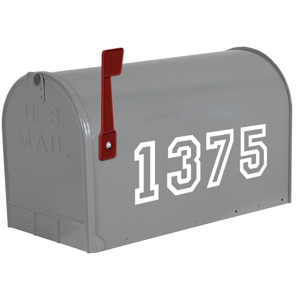 VWAQ Mailbox Vinyl Numbers Decals - Custom House Address Personalized Stickers - CMB22 - VWAQ Vinyl Wall Art Quotes and Prints