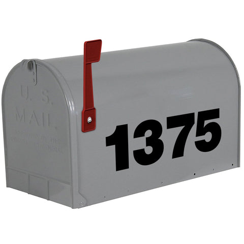 VWAQ Custom Mailbox Numbers Stickers - Personalized House Address Decal - CMB20 - VWAQ Vinyl Wall Art Quotes and Prints