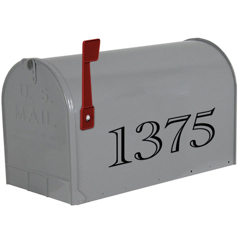 VWAQ Personalized Mailbox Lettering Decal - Custom House Numbers Vinyl Sticker - CMB15 - VWAQ Vinyl Wall Art Quotes and Prints