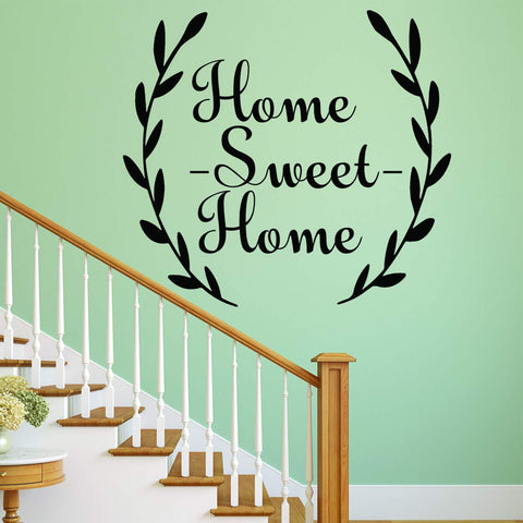 VWAQ Home Sweet Home Family Quotes Wall Decal V-2 - VWAQ Vinyl Wall Art Quotes and Prints