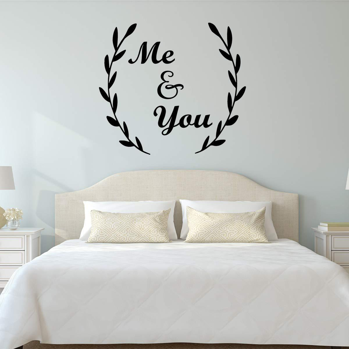 VWAQ Me and You Bedroom Quotes Wall Decal