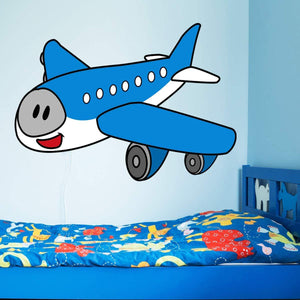 VWAQ Airplane Nursery Wall Decal Kids Aviation Decor Peel and Stick - PAS32 - VWAQ Vinyl Wall Art Quotes and Prints