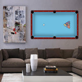 VWAQ Billiards Wall Decal Pool Table Vinyl Sticker Decoration - HOL4 - VWAQ Vinyl Wall Art Quotes and Prints
