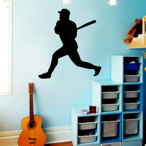 VWAQ Baseball Wall Decals for Boys Room - Sports Vinyl Stickers Decor - VWAQ Vinyl Wall Art Quotes and Prints