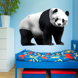VWAQ Panda Wall Decal - Peel and Stick Panda Bear Kids Room Sticker - HOL28