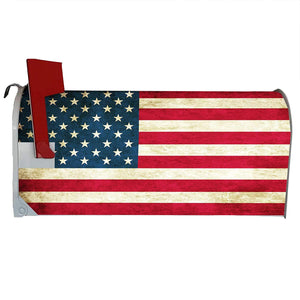 VWAQ American Flag Mailbox Covers Magnetic - Patriotic Decorative Magnets - MBM1 - VWAQ Vinyl Wall Art Quotes and Prints