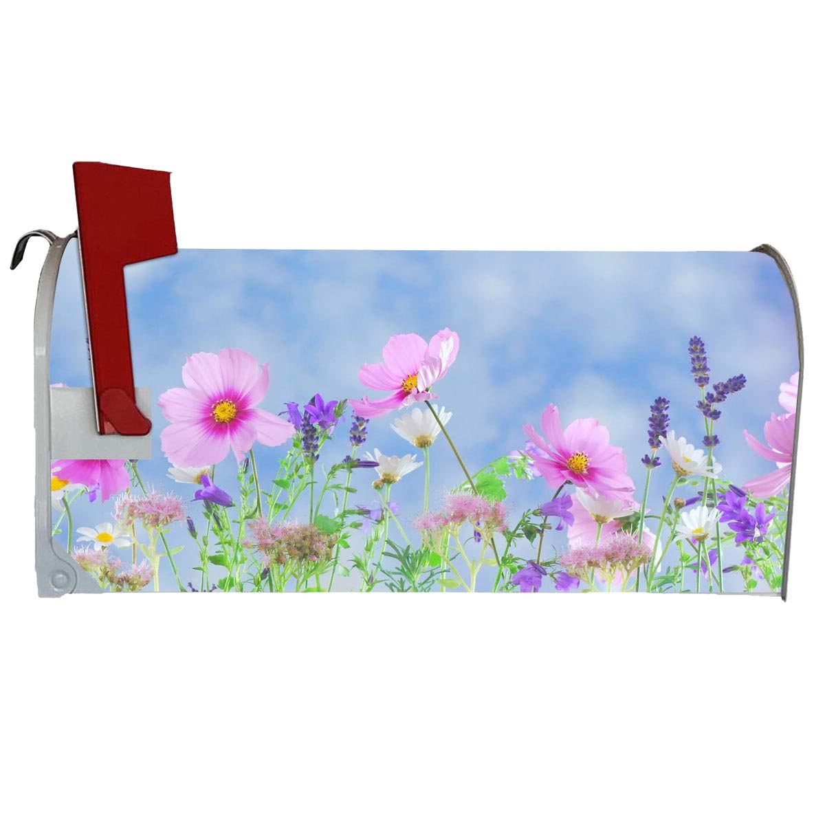 VWAQ Spring Flowers Magnetic Mailbox Cover - Summer Floral Decorative Magnet - MBM2 - VWAQ Vinyl Wall Art Quotes and Prints