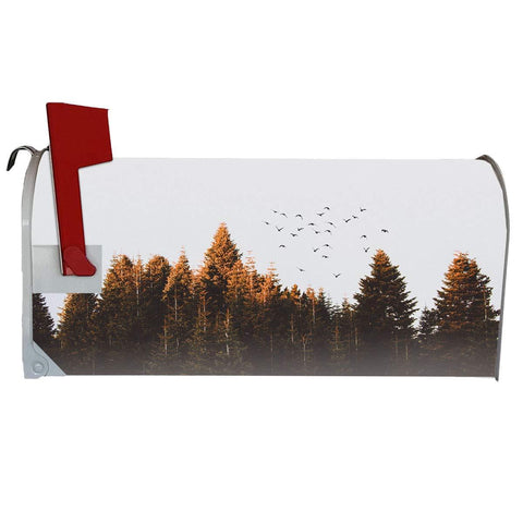 VWAQ Fall Mailbox Covers Magnetic Forest Decorative Mailbox Wraps - MBM5 - VWAQ Vinyl Wall Art Quotes and Prints
