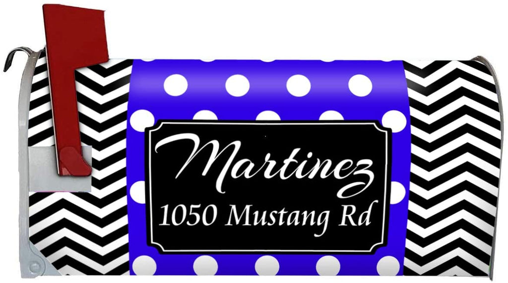 Vwaq Custom Mailbox Cover Personalized Magnetic Mailbox Wrap Name An