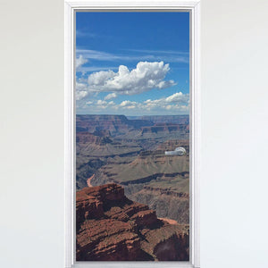 VWAQ Peel And Stick Grand Canyon Door Mural - Nature Door Wrap Vinyl Sticker - DM1 - VWAQ Vinyl Wall Art Quotes and Prints