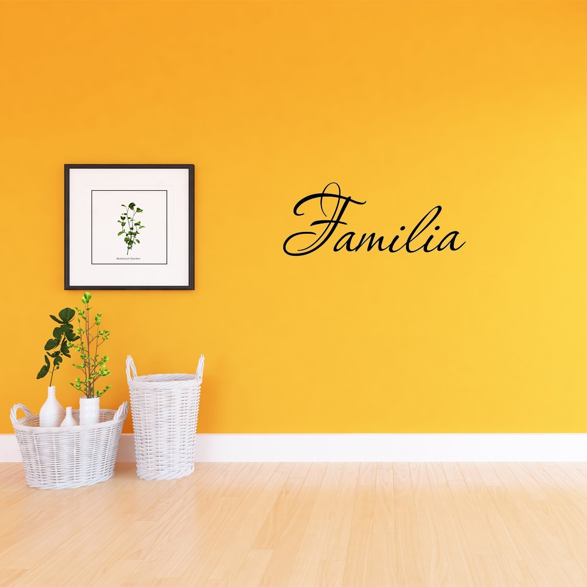 VWAQ Familia Spanish Wall Decal - VWAQ Vinyl Wall Art Quotes and Prints