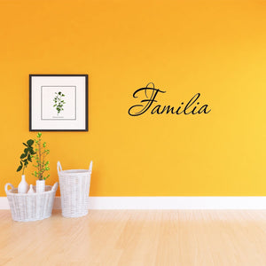 VWAQ Familia Wall Quotes Decal Family in Spanish Wall Decal - VWAQ Vinyl Wall Art Quotes and Prints