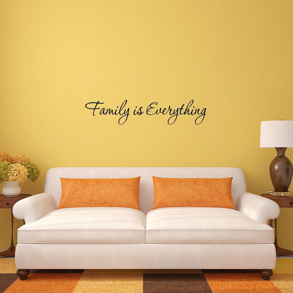 VWAQ Family is Everything Vinyl Wall Decal - VWAQ Vinyl Wall Art Quotes and Prints