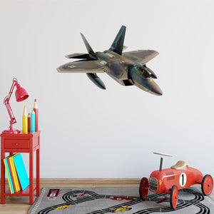 VWAQ Fighter Jet Wall Sticker Jet Plane Wall Decal Peel And Stick Wall Mural - PAS5 - VWAQ Vinyl Wall Art Quotes and Prints