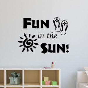 Fun in the Sun Wall Decal