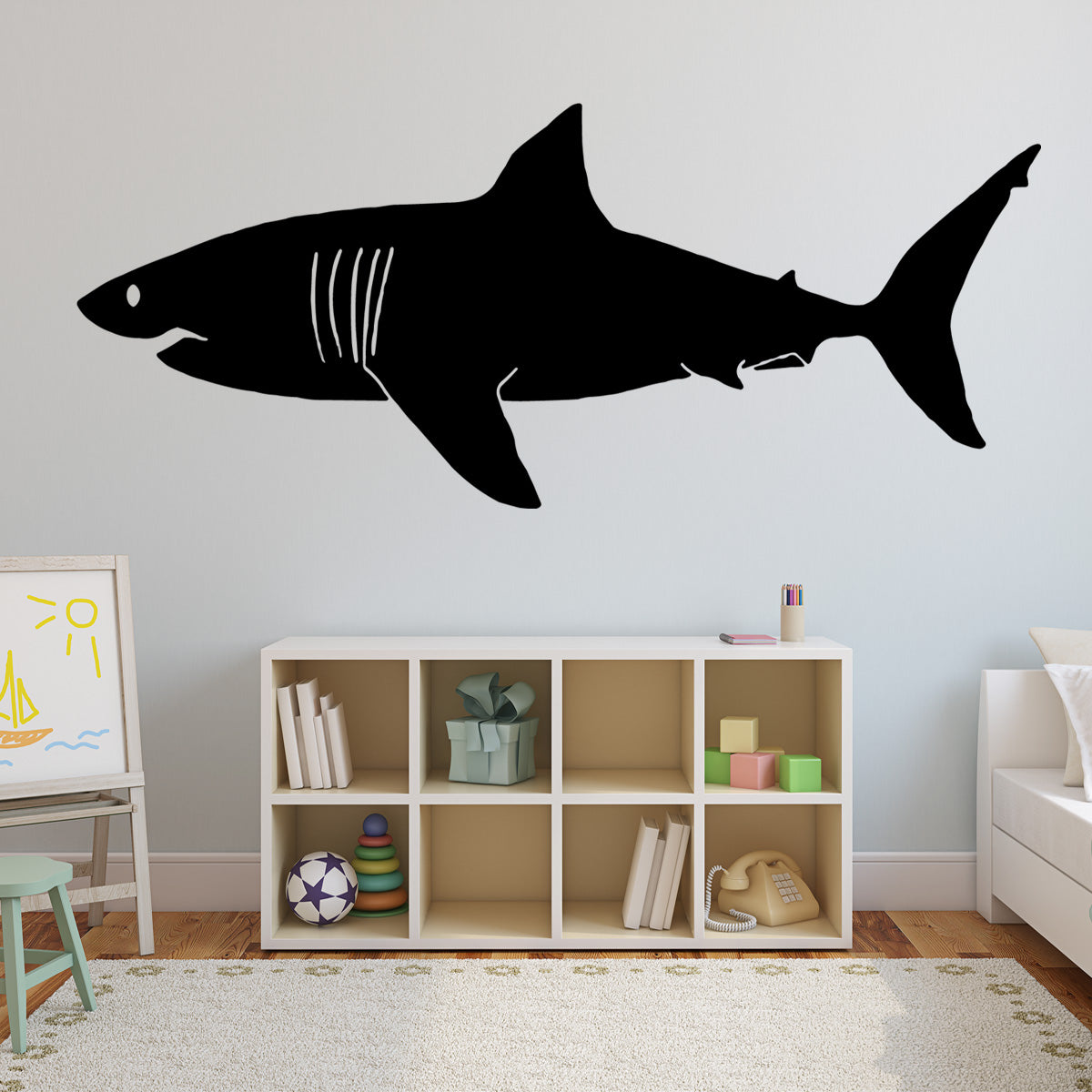 VWAQ Great White Shark Vinyl Wall Decal - VWAQ Vinyl Wall Art Quotes and Prints