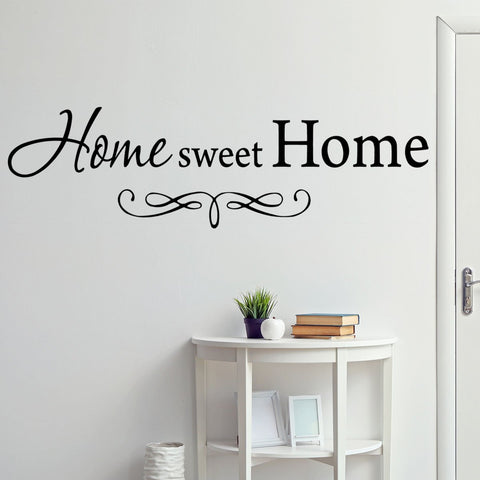 VWAQ Home Sweet Home Family Wall Decal - VWAQ Vinyl Wall Art Quotes and Prints