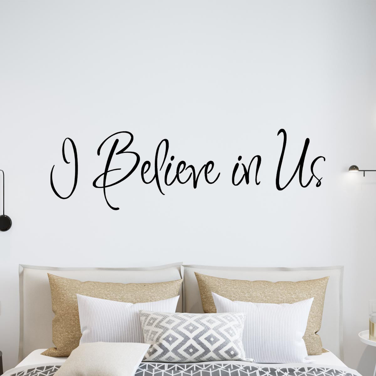 VWAQ I Believe In Us Vinyl Wall Decal - VWAQ Vinyl Wall Art Quotes and Prints
