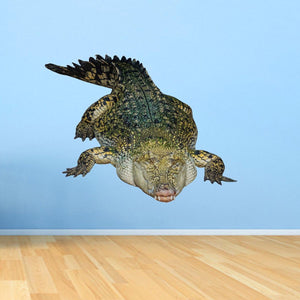 VWAQ Crocodile Wall Decal Sticker - Realistic Animal Vinyl Wall Art - PAS24 - VWAQ Vinyl Wall Art Quotes and Prints