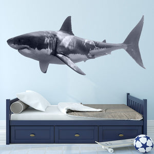 VWAQ Great White Shark Peel and Stick Wall Decal - PAS3 - VWAQ Vinyl Wall Art Quotes and Prints