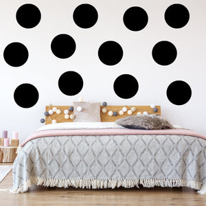 "VWAQ Peel & Stick (12) Pack 6"" Polka Dots - MM-592"