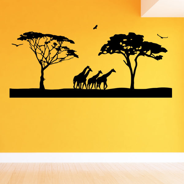 VWAQ Jumbo Safari Vinyl Wall Art Decal - VWAQ Vinyl Wall Art Quotes and Prints