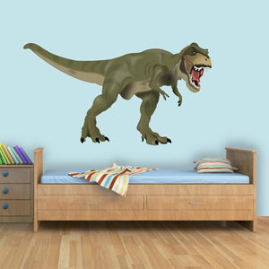 VWAQ Dinosaur Wall Decals Sticker Mural Decor - T Rex Vinyl Peel and Stick Kids Room - Tyrannosaurus Rex Wall Art - CAW1 - VWAQ Vinyl Wall Art Quotes and Prints
