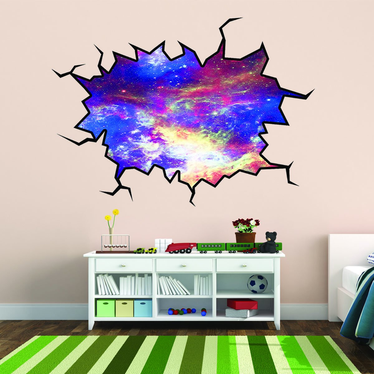 Hole in the Wall Decal