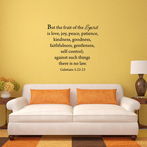 VWAQ But the Fruits of the Spirit Wall Quotes Decal Galatians - VWAQ Vinyl Wall Art Quotes and Prints
