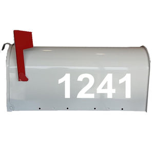 VWAQ Mailbox Decals Street # Address Numbers Custom Feature Mailbox Stickers Vinyl Letters VWAQ-CMB2 - VWAQ Vinyl Wall Art Quotes and Prints