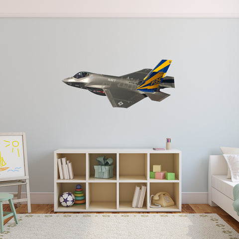 VWAQ Airplane Fighter Jet Vinyl Wall Decal - G505 - VWAQ Vinyl Wall Art Quotes and Prints