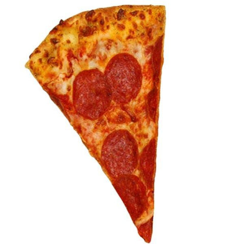 Pepperoni Pizza Slice Wall Decal Peel and Stick Restaurant Food Wall Art VWAQ-G508 Wall Decal
