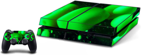 VWAQ PS4 Lava Lamp Skin For Console And Controller Green Skin For Playstation 4 - PGC10 - VWAQ Vinyl Wall Art Quotes and Prints