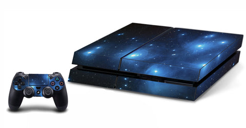 VWAQ PS4 Galaxy Skins For Console And Controller Space Skin For Playstation 4 - PGC1 - VWAQ Vinyl Wall Art Quotes and Prints