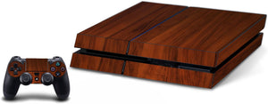 VWAQ PS4 Wood Grain Skin For Console And Controller Wood Skins For Playstation 4 - PGC4 - VWAQ Vinyl Wall Art Quotes and Prints