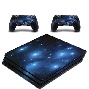 VWAQ PS4 Pro Game Skin and Controller Skins Outer Space Theme - PPGC1 - VWAQ Vinyl Wall Art Quotes and Prints
