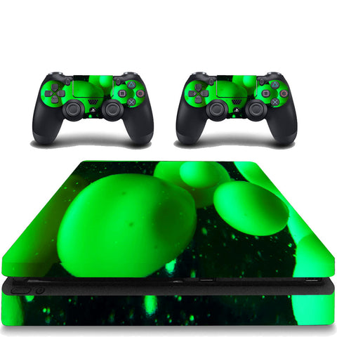 VWAQ PS4 Slim Green Skin Cover Playstation 4 Slim Lava Lamp Decal Sticker - VWAQ Vinyl Wall Art Quotes and Prints