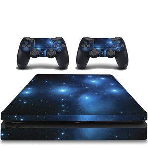VWAQ PS4 Slim Galaxy Skin Sony Playstation 4 Slim Sticker Space Skins Cover - PSGC1 - VWAQ Vinyl Wall Art Quotes and Prints