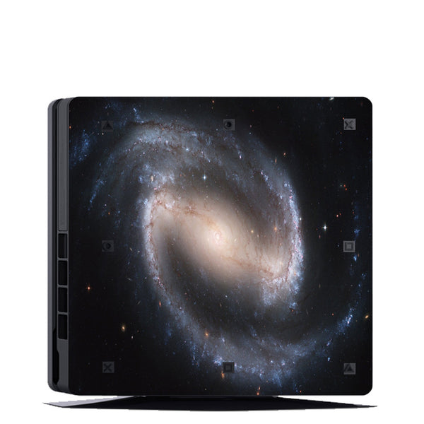 VWAQ PS4 Slim Decal Space Skin Playstation 4 Slim Skins Galaxy Sticker Cover - PSGC5 no background