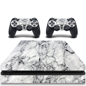 VWAQ Marble Skin PS4 Slim Game Console and Constroller Skins Playstation 4 Slim Cover Skins - VWAQ Vinyl Wall Art Quotes and Prints