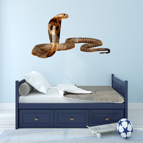 VWAQ Cobra Snake Peel and Stick Wall Decal - COB555 - VWAQ Vinyl Wall Art Quotes and Prints