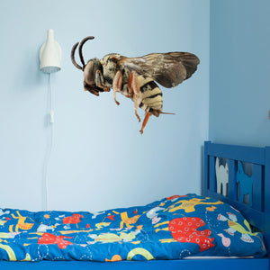 VWAQ Peel and Stick Honey Bee Wall Decal - G600