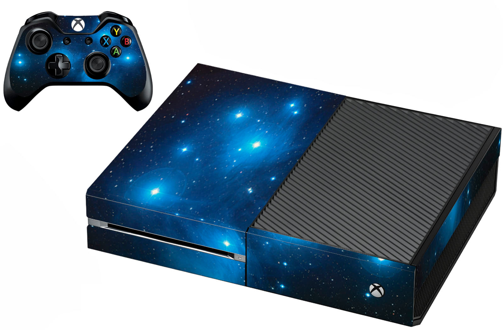 VWAQ Xbox One Galaxy Skins For Console And Controller Space Skin For Xbox One - XGC1 - VWAQ Vinyl Wall Art Quotes and Prints