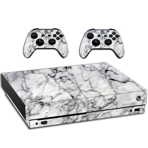 VWAQ Xbox One X Skin Marble White | Vinyl Wrap Decal Cover Sticker Skins - XXGC7 - VWAQ Vinyl Wall Art Quotes and Prints