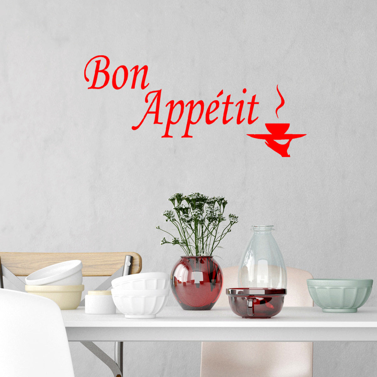 VWAQ Bon Appétit Wall Quotes Decal Cooking Quotes