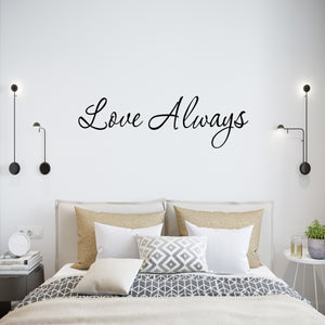 VWAQ Love Always Vinyl Wall Decal