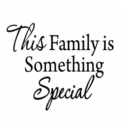 VWAQ This Family is Something Special Vinyl Wall art Decal - VWAQ Vinyl Wall Art Quotes and Prints no background