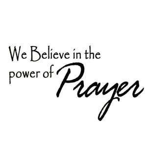 VWAQ We Believe in Miracles Home Decor Vinyl Wall Decal - VWAQ Vinyl Wall Art Quotes and Prints
