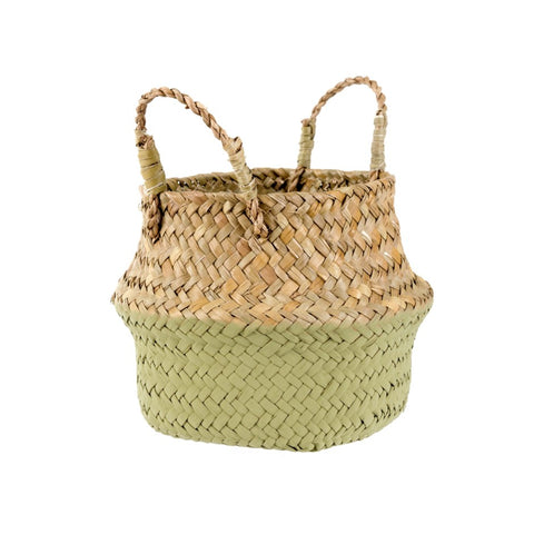 Baby Belly Basket-Olive Dip