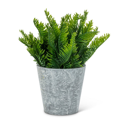 Faux Potted Fern